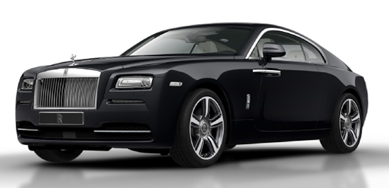 Rolls Royce Wraith Offers an Unusual Design